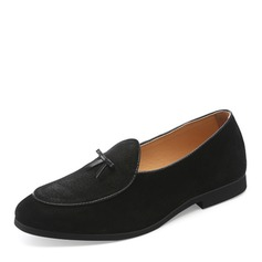 Mannen Suede Tassel Loafer Casual Loafers voor heren