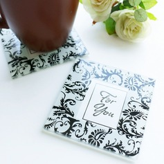 Square Glass Tea Party Favors