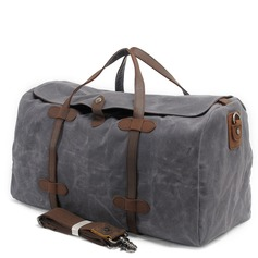 Groomsmen Gifts - Canvas Style Canvas Duffle Bag