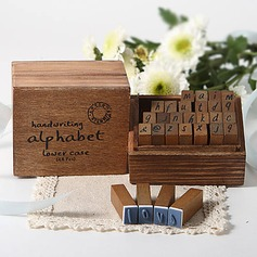 Handwriting Alphabet Wooden Stampers (051024380)