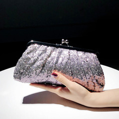 Gorgeous Sequin Clutches/Satchel/Bridal Purse/Evening Bags