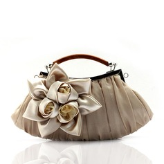 Elegant Silk Clutches/Wristlets/Bridal Purse/Handbags/Top Handle