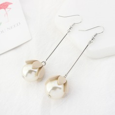 Unique Acrylic Pearl Women's Fashion Earrings