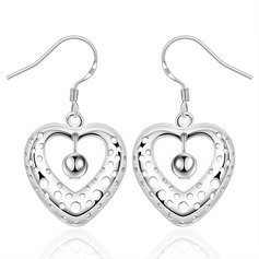 Exquisite Silver Plated Ladies' Fashion Earrings