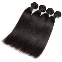 5A Virgin/remy Straight Human Hair Human Hair Weave (Sold in a single piece) 50g