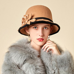Ladies' Glamourous/Charming/Romantic Wool Bowler/Cloche Hats