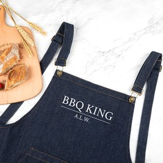 Simple Classic Multifunctional Personalized Denim Apron