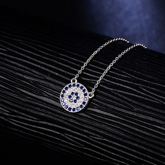 Chic Rhinestones Silver With Rhinestone Ladies' Fashion Necklace (Sold in a single piece)