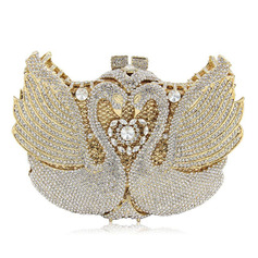 Gorgeous/Refined/Bright Crystal/ Rhinestone Clutches/Bridal Purse/Luxury Clutches/Evening Bags (012221700)