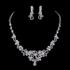 Chic Alloy/Rhinestones Ladies' Jewelry Sets