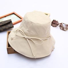 Ladies' Beautiful/Pretty Cotton/Cambric With Bowknot Floppy Hat