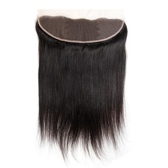 """13""""*4"""" 3A Straight Human Hair Closure (Sold in a single piece)"""