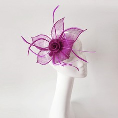 Ladies' Fancy Feather/Net Yarn With Feather Fascinators/Kentucky Derby Hats/Tea Party Hats