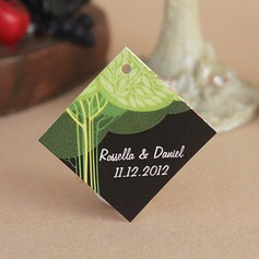 Personalized Tree Design Hard Card Paper