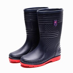 Men's PVC Rain Boats Casual Men's Boots (261172592)