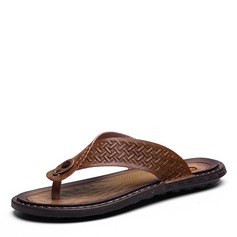 Men's Microfiber Leather Casual Men's Slippers