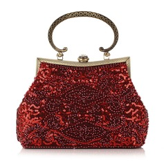 Charming Beading/Embroidery Clutches/Wristlets