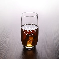 Groomsmen Gifts - Personalized Classic Fashion Glass Glassware and Barware