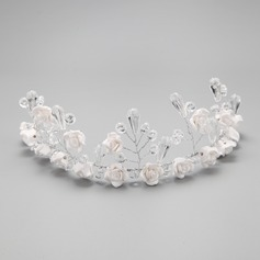 Pretty/Charming Crystal/Alloy/Ceramic Headbands