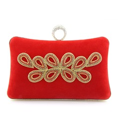 Attractive Suede Clutches/Wristlets