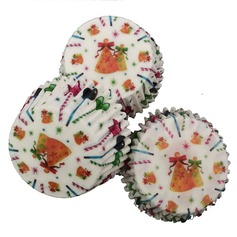 Dreamry Pearl Paper Cupcake Wrappers