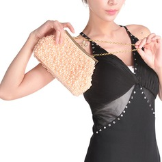 Elegant Imitation Pearl Clutches