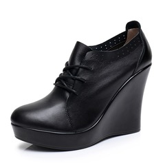 Women's Real Leather Character Shoes Dance Shoes