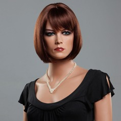 Straight Synthetic Hair Capless Wigs 120g