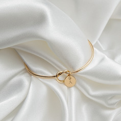 Elegant Alloy Initial Bracelets Bracelets For Bride/For Bridesmaid (011205828)