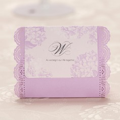 Pretty Floral Theme Cuboid Favor Boxes