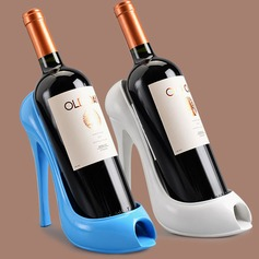 Creative High Heels Shape Resin Bottle Holder / Wine Rack (052095651)