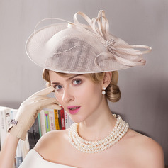 Dames Glamour Batiste Chapeaux de type fascinator/Kentucky Derby Des Chapeaux/Chapeaux Tea Party