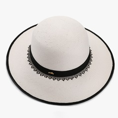 Ladies' Lovely/Fashion/Glamourous/Elegant Raffia Straw Straw Hat