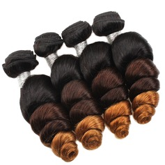 5A Virgin/remy Loose Wavy Mid-Length Long Human Hair Hair Weaves/Weft Hair Extensions (Sold in a single piece) 100g (219131091)