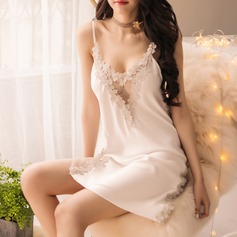 Imitated Silk Classic Feminine Sleepwear