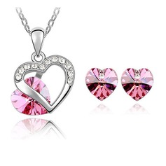 Beautiful Alloy With Crystal Jewelry Sets