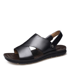 Men's Real Leather Casual Men's Sandals (262207984)
