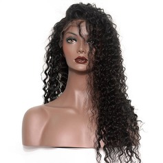 360 Frontal 4A Non remy Deep Human Hair Closure (Sold in a single piece) 100g