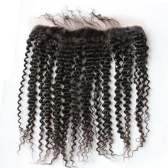 """13""""*4"""" 5A Kinky Curly Human Hair Closure (Sold in a single piece)"""