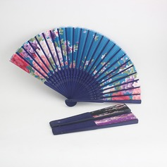 Floral Design Bamboo/Silk Hand fan (051046551)