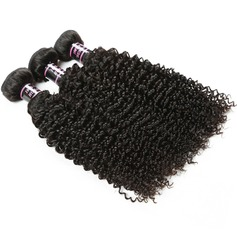 7A Primary cutting Curly Mid-Length Long Human Hair Hair Weaves/Weft Hair Extensions (Sold in a single piece) 100g