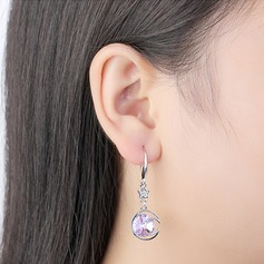 Exquisite Alloy/Crystal With Crystal Earrings