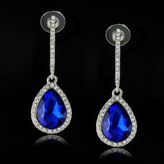 Charming Alloy/Crystal With Rhinestone Ladies' Earrings