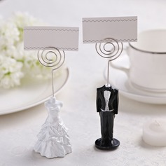 Tuxedo & Gown Resin Place Card Holders  (051051273)