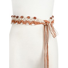 Gorgeous/Stylish PU Belt With Beading