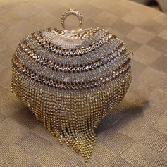 Gorgeous PU/Imitation Pearl Clutches/Satchel