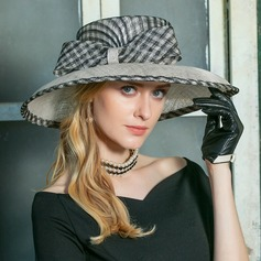Ladies' Special Cambric With Bowknot Floppy Hat