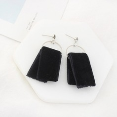 Beautiful Zircon Silk With Zircon Ladies' Fashion Earrings