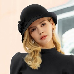 Ladies' Beautiful/Elegant/Simple Wool Floppy Hats