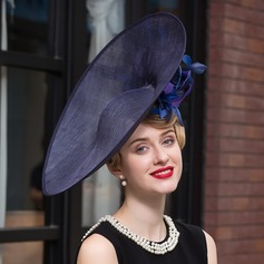 Ladies' Elegant Net Yarn Bowler/Cloche Hat/Kentucky Derby Hats (196114741)